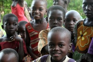 faces of ugandan children